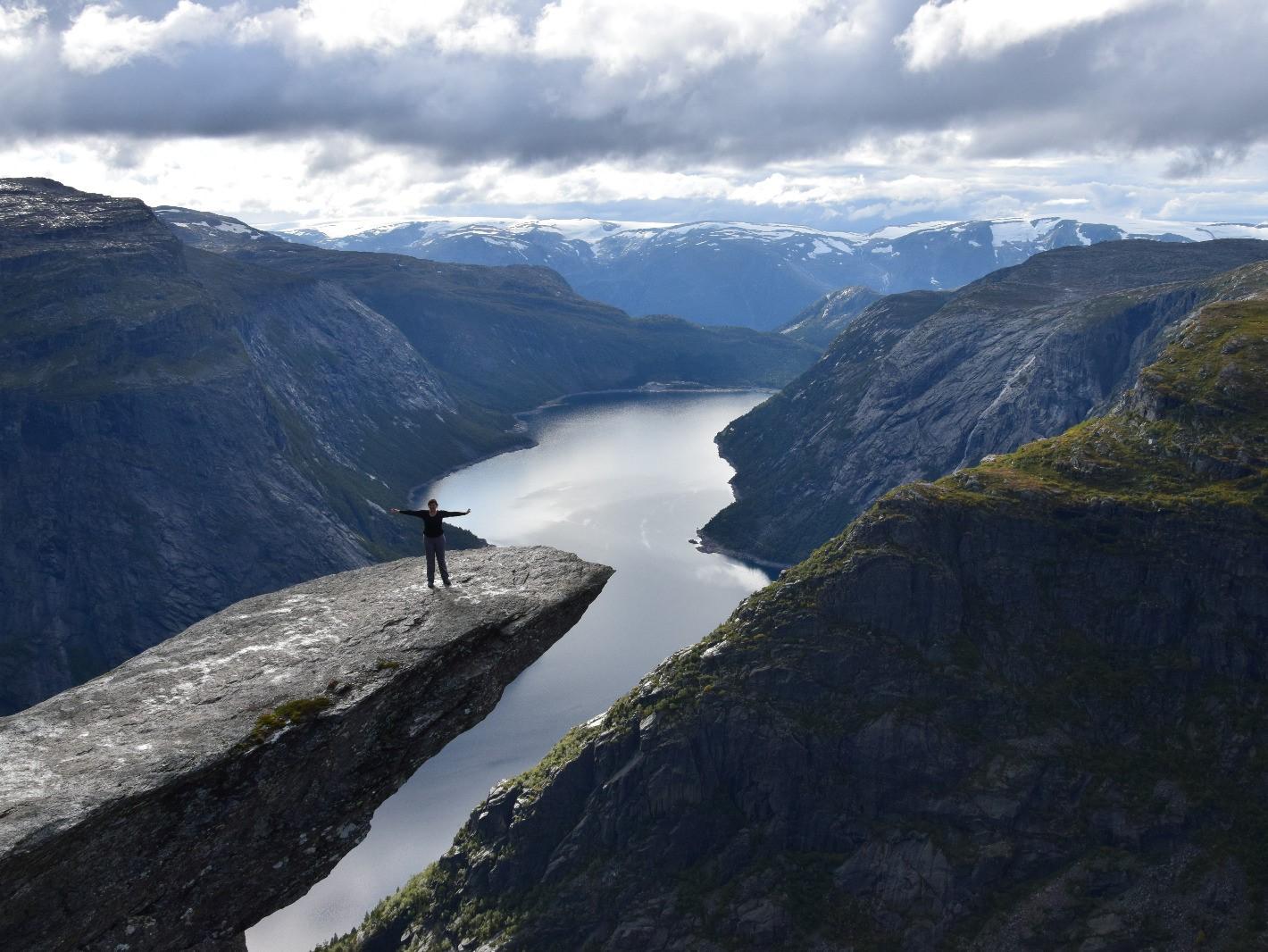 Wandern in Norwegen: Instagram-Hotspot Trolltunga