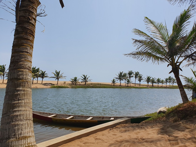 "Paradies in Ghana: ""Meet me There""-Lodge in Dzita"