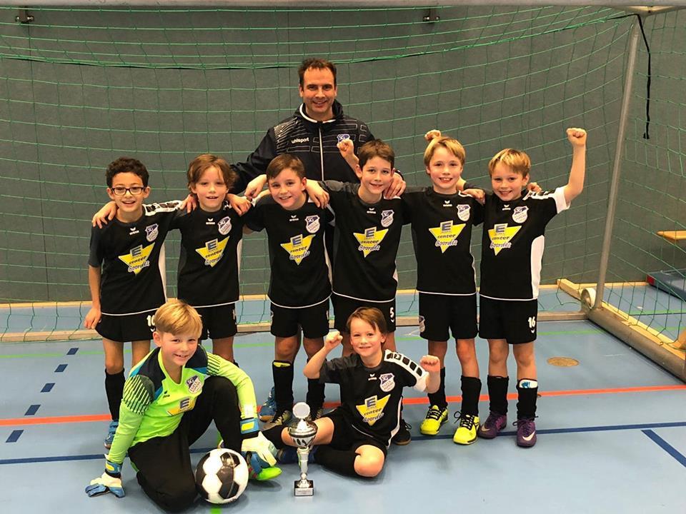 Sieger F-Jugend: SV Egels-Popens