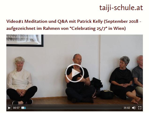 Patrick Kelly führt in diesem Video durch eine Meditation und erläutert die Grundlagen der Meditation.