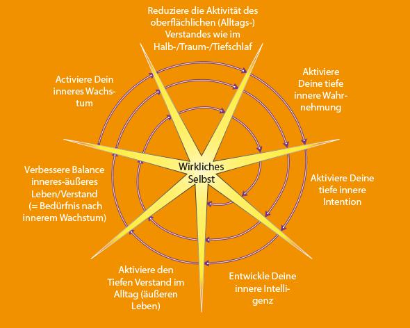7-Phasen-Zyklus für inneres Wachstum