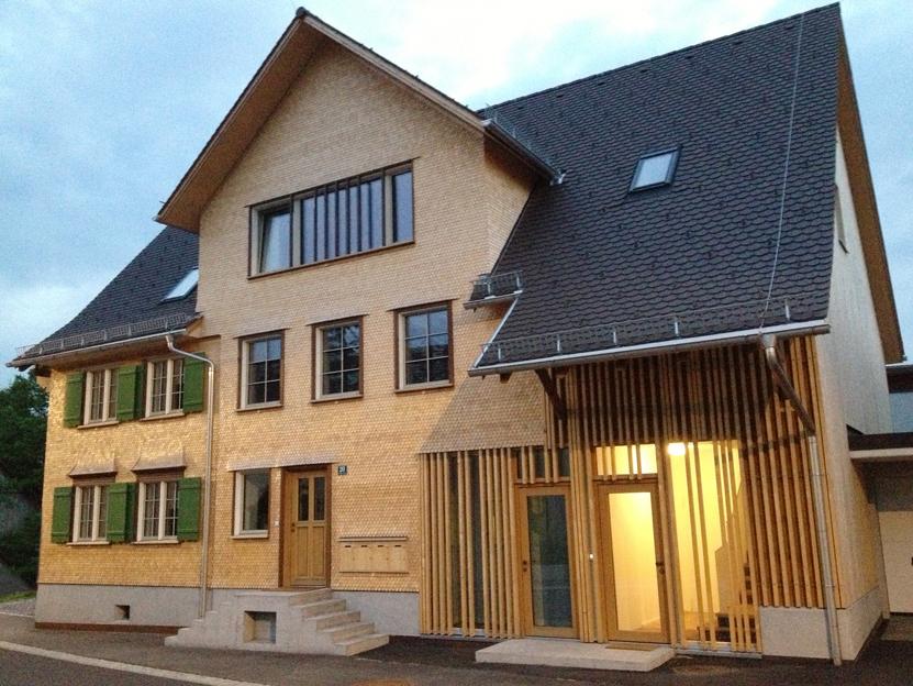 Mehrfamilienhaus Umbau Bauernhaus  ©2019 Welte Architetkur