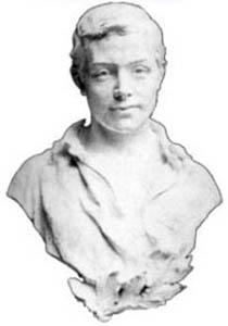 Buste de Paul Froment par le sculpteur Antoine Bourlange - Penne d'Agenais