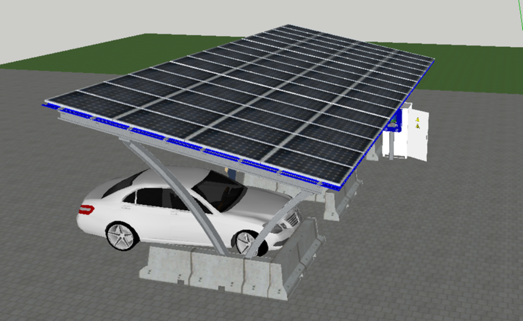 alkaSOL / EST project: carport design study - alka-port