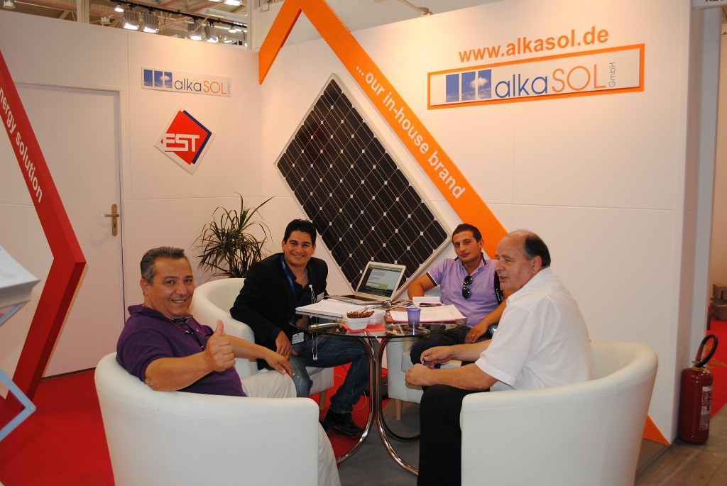 Photovoltaic exhibition in Rome 2010