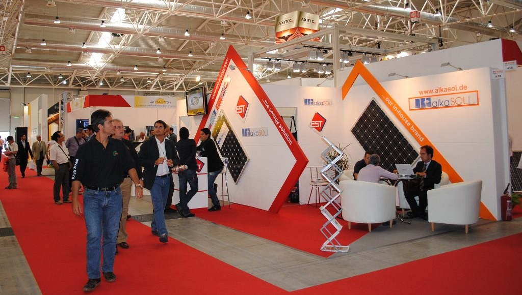 Photovoltaic exhibition in Rome 2010 - our both