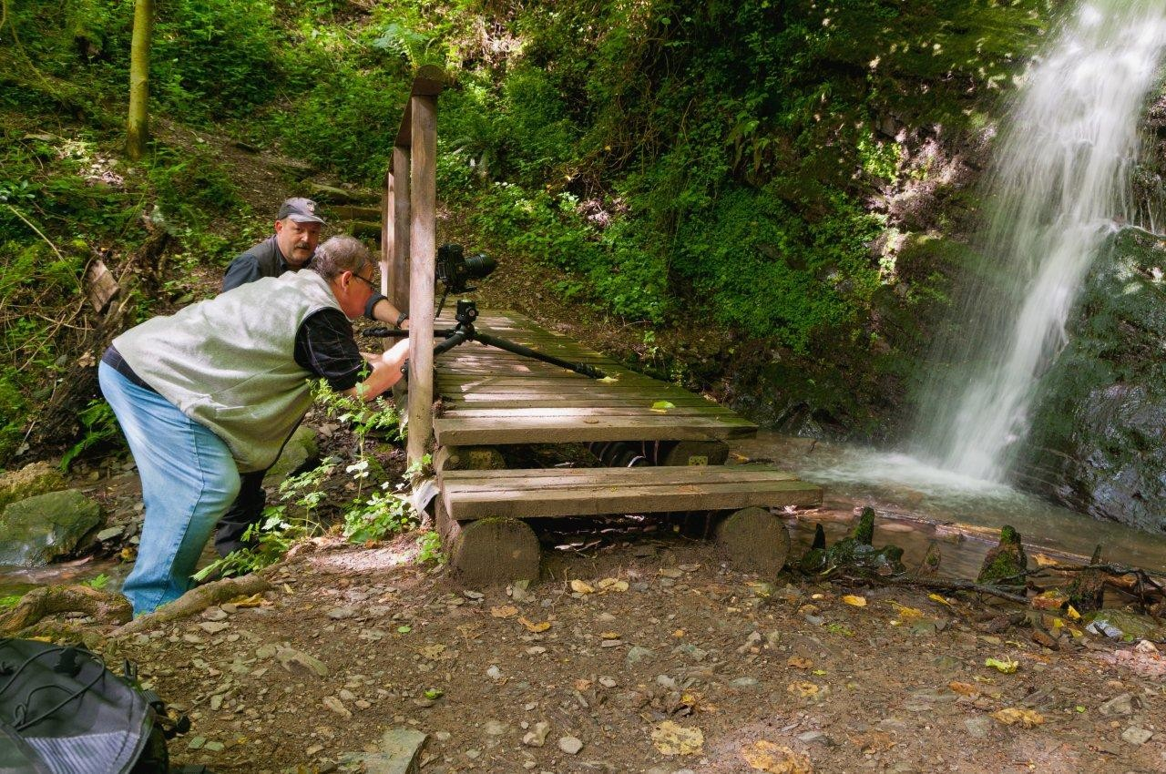 Wasserfall Dortebachtal                                                        Foto: U. Kirchhoff