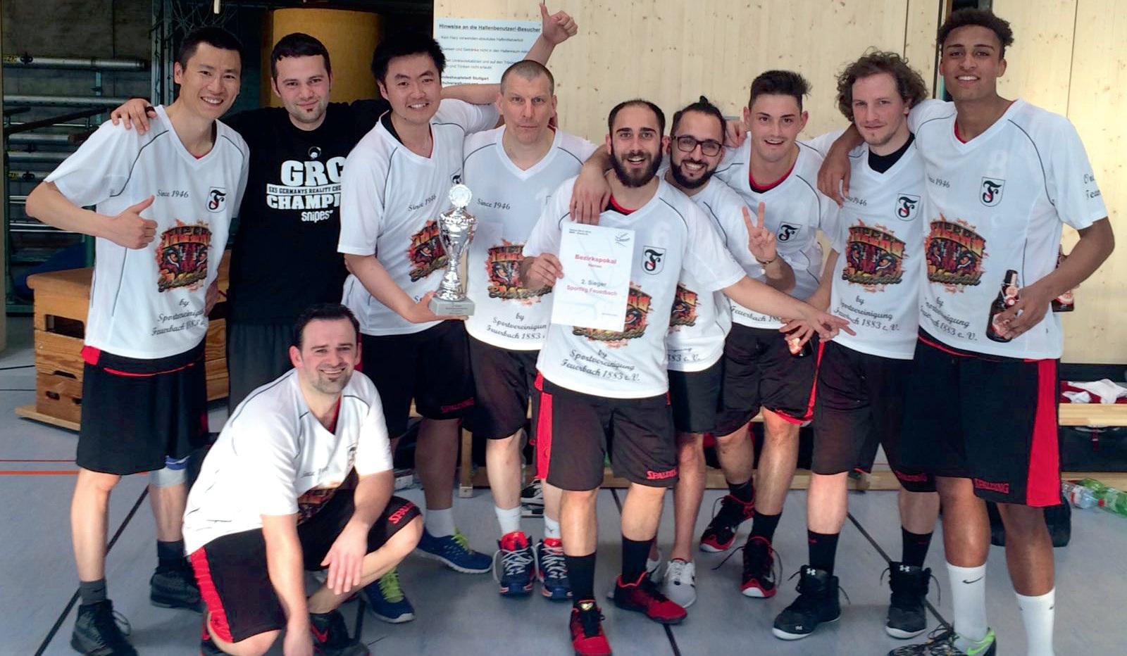 Basketball Herren schaffen sofortigen Wiederaufstieg und erreichen das Bezirkspokal Finale