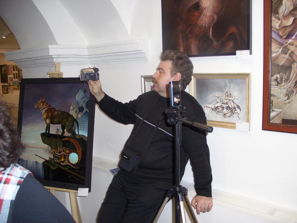 """На выставке """"ИНЬ-ЯН"""" в Музее революции в Москве"""