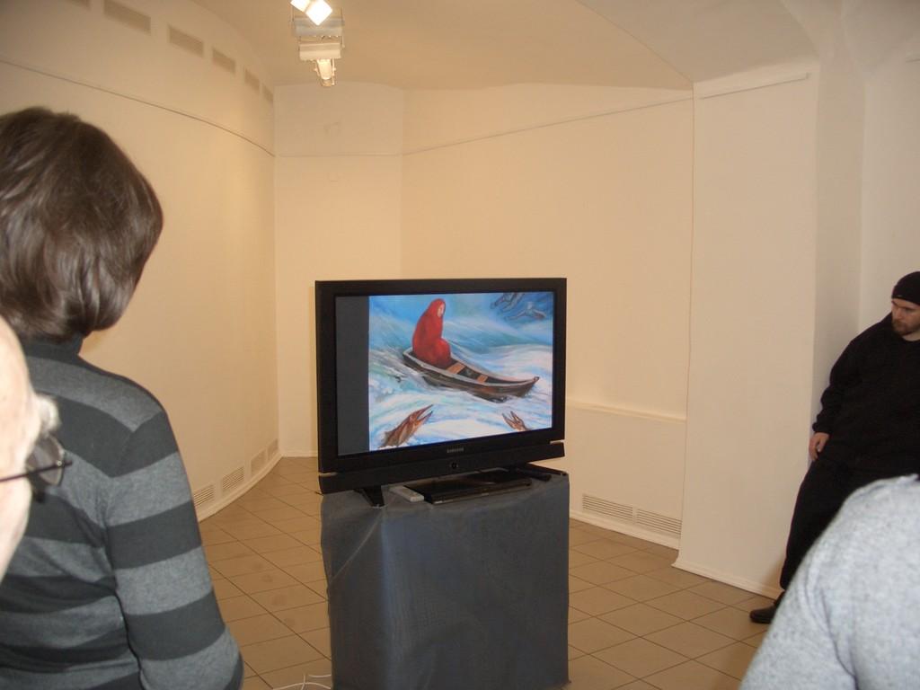 """Мои картины на мониторе, Презентация к выставки """"ИНЬ-ЯН""""  Москва 2011 год. 26 февраля"""
