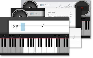 clavier piano jeu