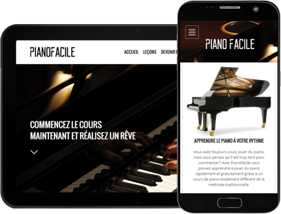 site mobile tablette