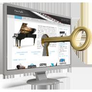 Unlock piano lessons