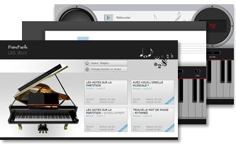 jeu logiciel piano