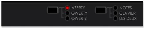 piano azerty