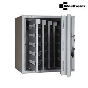Wertheim Schlüsseltresor AM15 (5Tablare - 50 Schlüsselleisten - 400 Schlüsselhaken), presented by Egger Tresore Safes