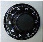 Zahlen-Drehscheibe, mechanisches Zahlenkombinationsschloss von Primat der PRIMSTAR Serie 1, presented by Egger Tresore Safes