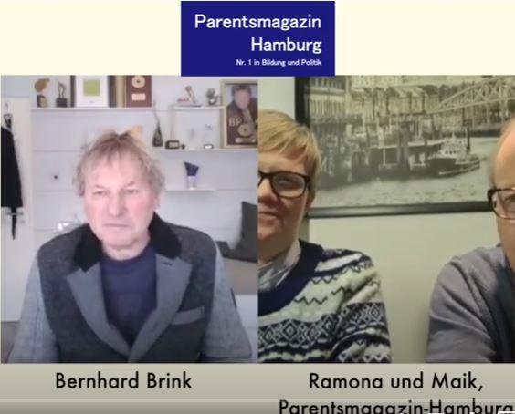 Videointerview mit Bernhard Brink durch das Parentsmagazin-Hamburg