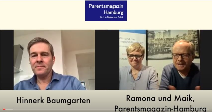 Videointerview mit Hinnerk Baumgarten durch das Parentsmagazin-Hamburg