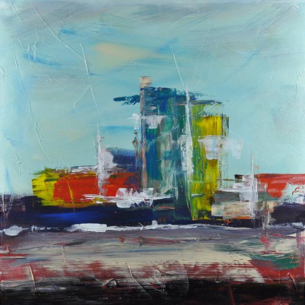 Bild 15 -  3er Serie, Acryl  auf Leinwand, 60 x 60 cm, © Uli Körber | KOERBERsART | Schefflenz