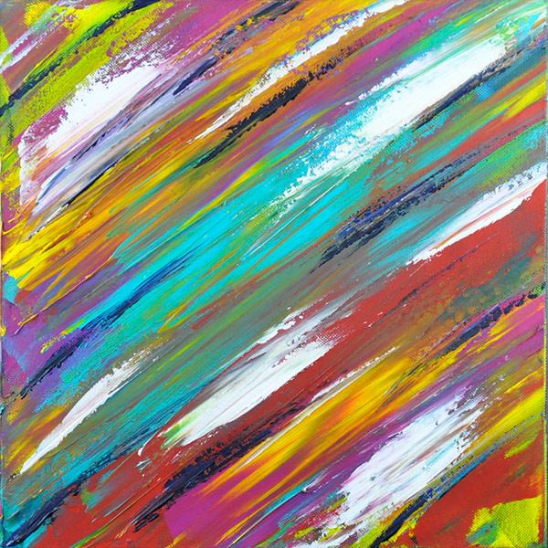 Bild 18 - 3er Serie, Acryl  auf Leinwand, 30 x 30 cm, © Uli Körber | KOERBERsART | Schefflenz