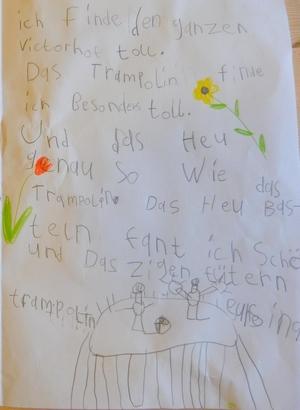 gemaltes Kinderbild