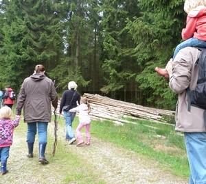 Familienwanderung Kaiser Karl Weg in Monschau konzen
