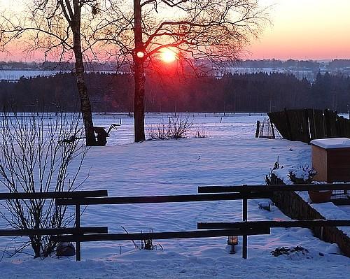 Sonnenaufgang über Konzen