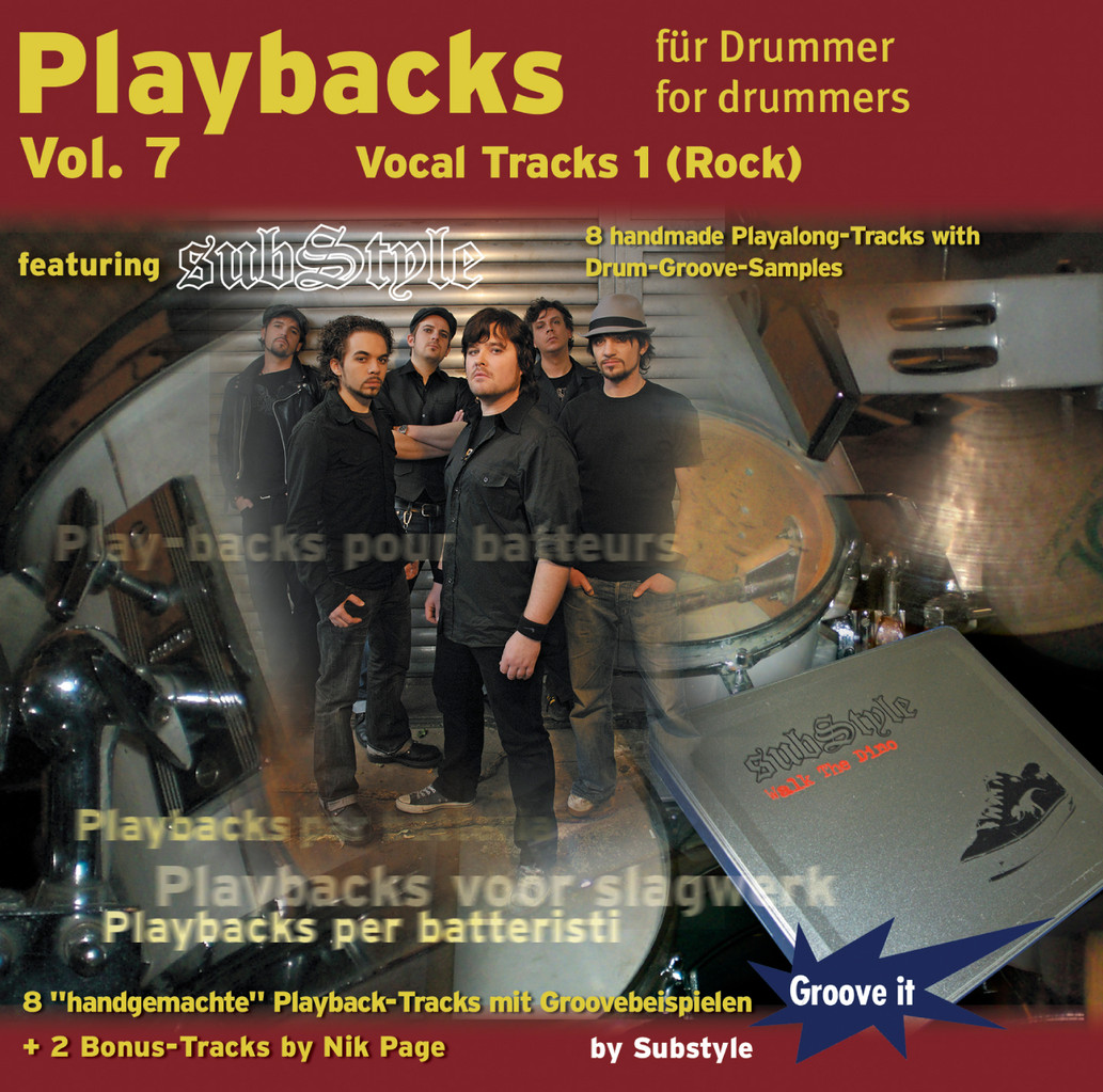 Vol.7 - Vocal-Tracks 1 (Rock)