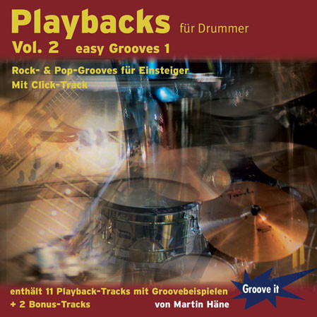 Playbacks für Drummer Vol.2 - easy Grooves 1