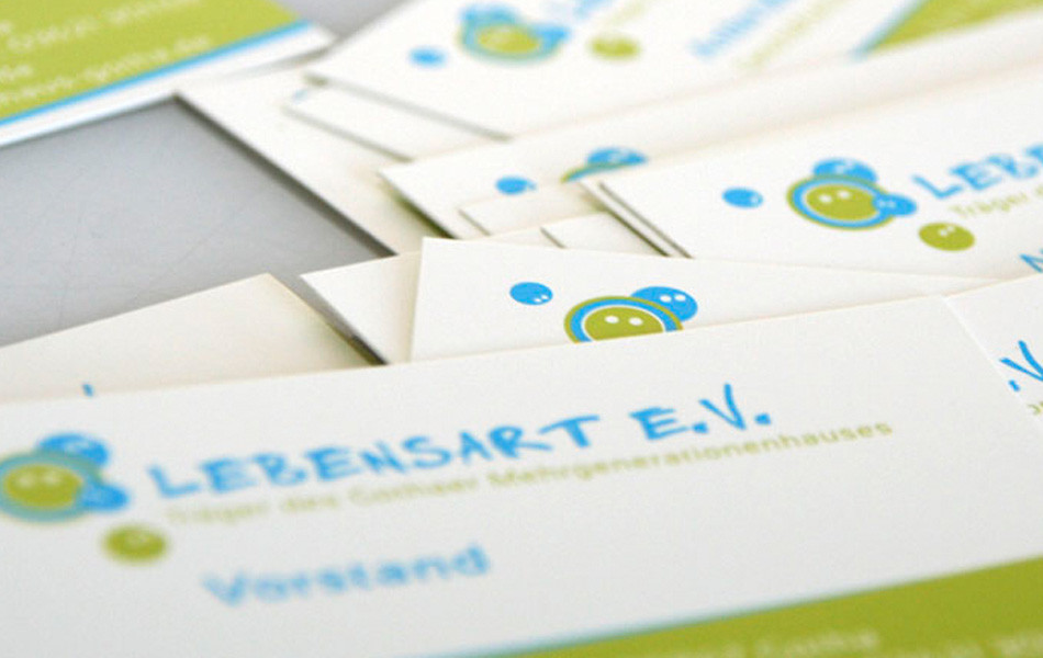 Visitenkarten - Mehrgenerationenhaus des Lebensart e.V. Gotha