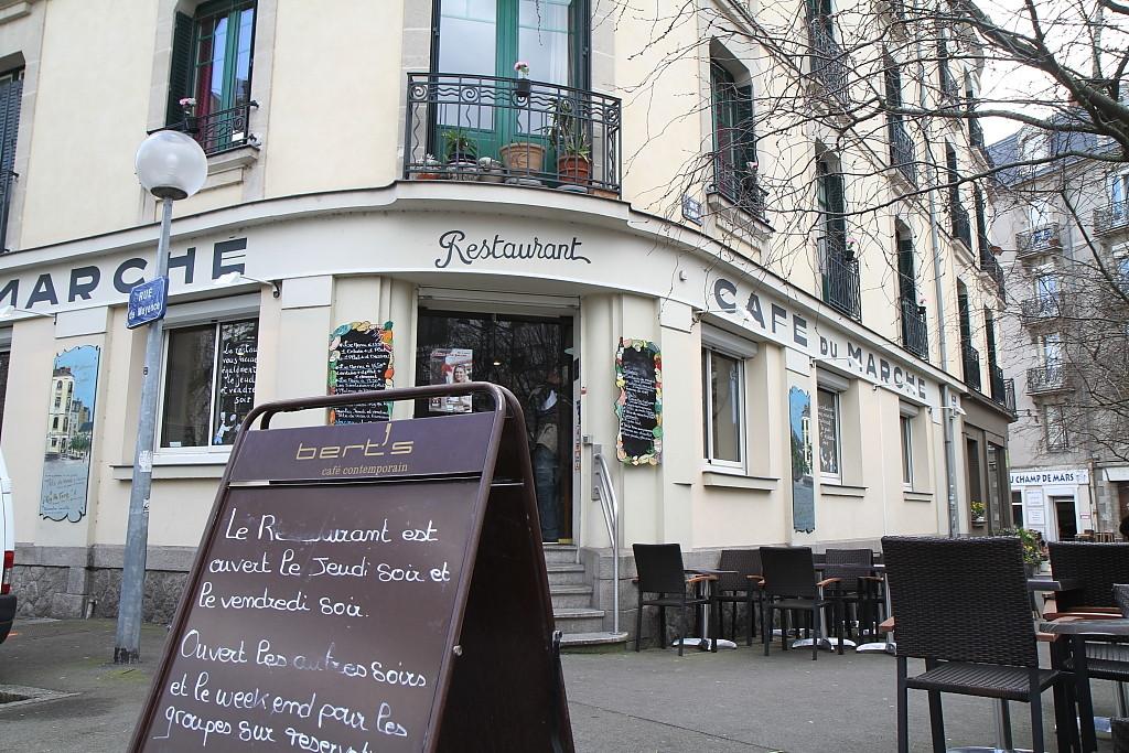 Restaurant Le Caf Ef Bf Bd Du March Ef Bf Bd Nantes