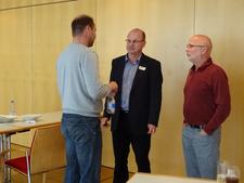 Norbert Schäffer und Richard Kalkbrenner im Gespräch