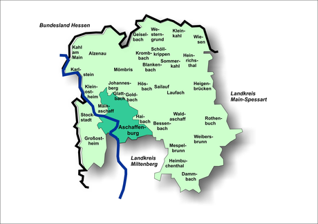 Landkreiskarte