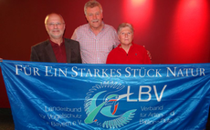 Hans-Jürgen Zimmermann mit Ellen und Richard Kalkbrenner