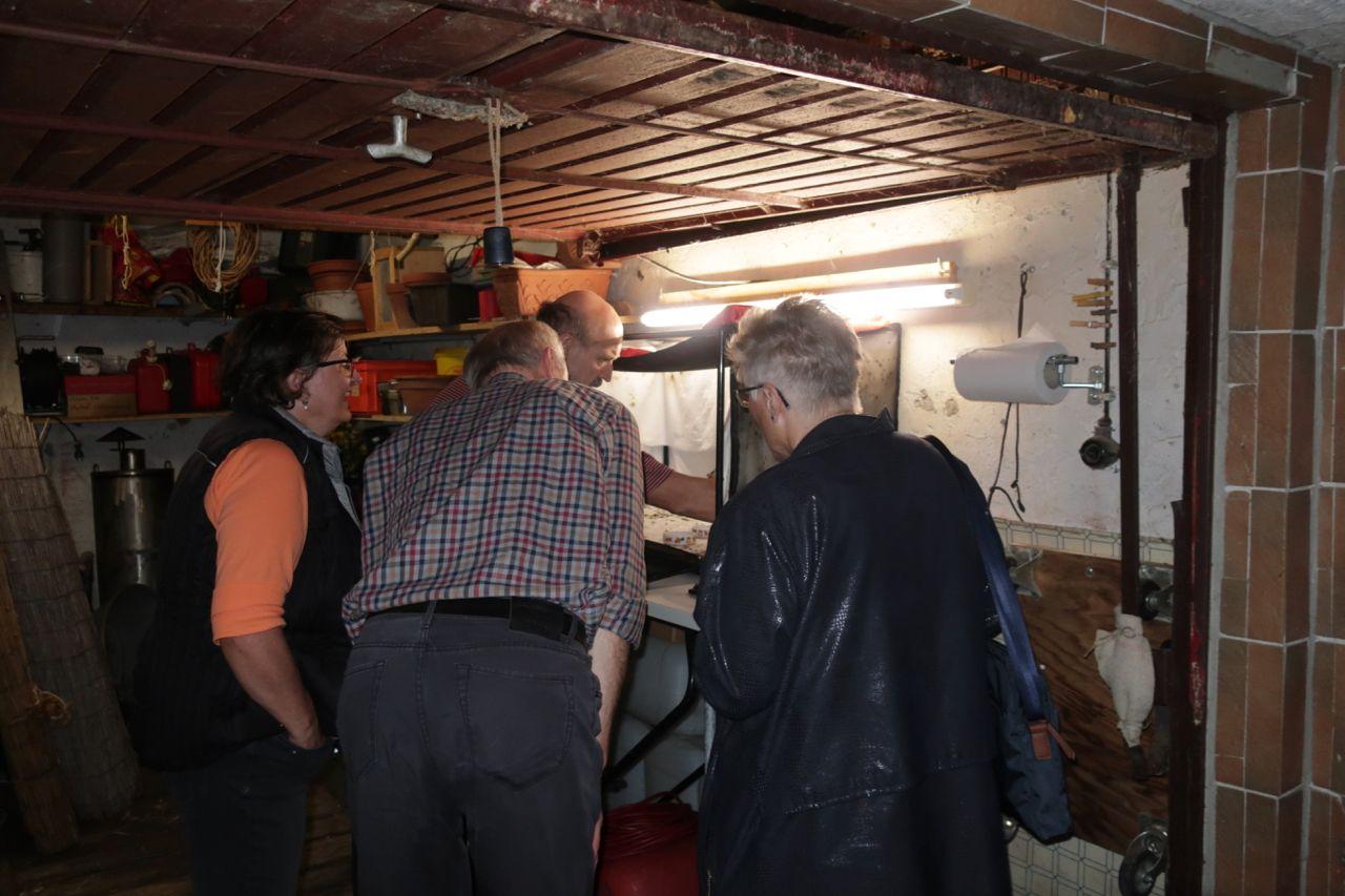Begeisterte Truppe: Arbeitskreis Gebäudebrüter