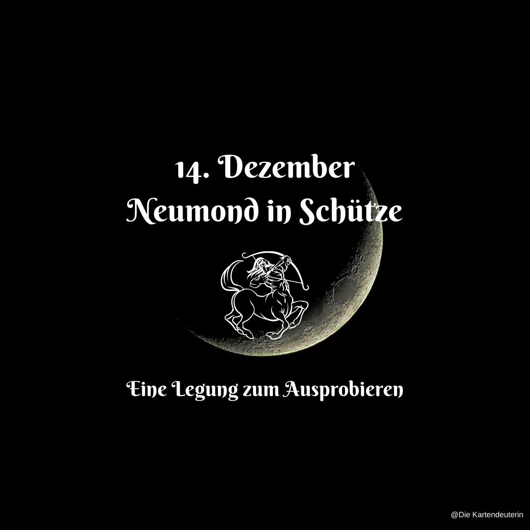 14. Dezember Neumond in Schütze