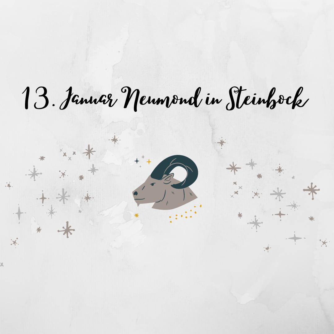 13. Januar Neumond in Steinbock