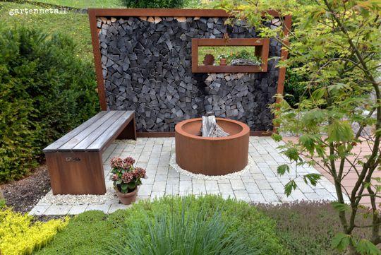 Cortenstahl Gestaltungselemente Für Ihren Garten Kirchhoff