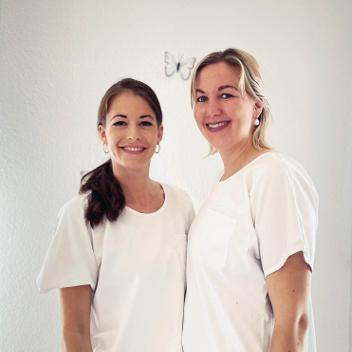 Gabriela Nyffenegger und Michèle Braun