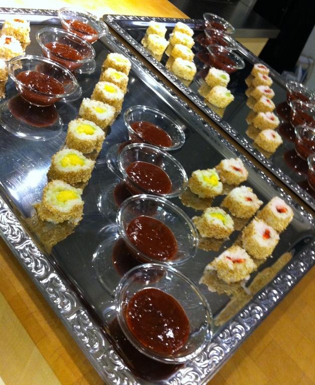 Süsse Sushi zum Dessert