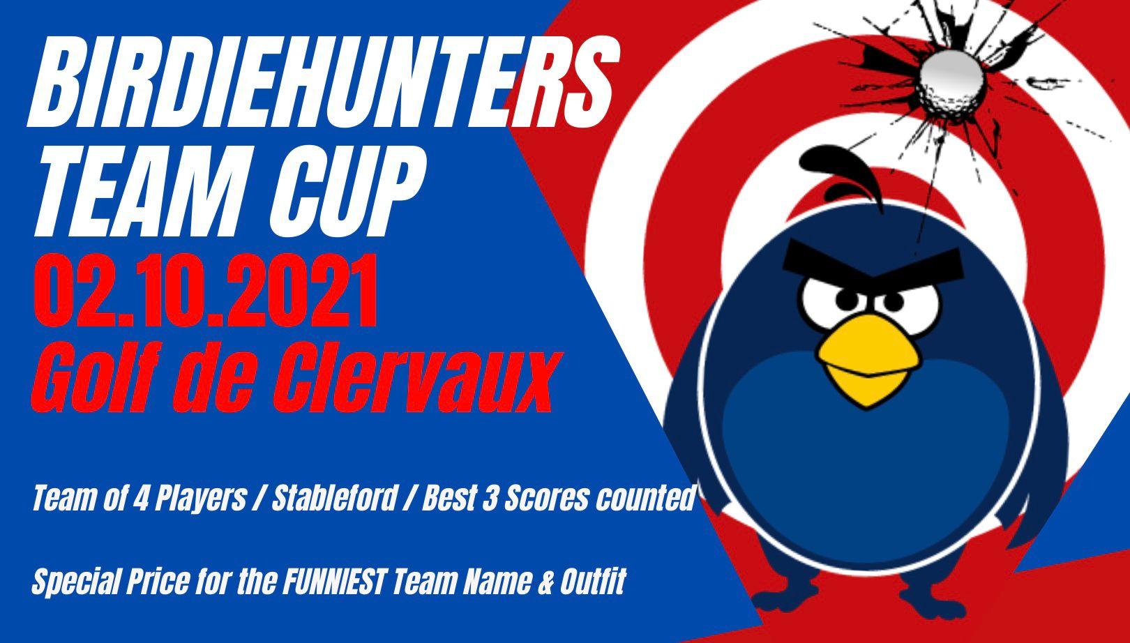 REGISTRATION TEAM CUP  2021