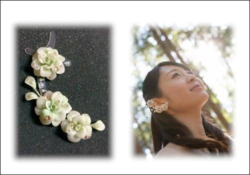イアーアートジュエリー パーフェクト3D 純白のウエディングドレス