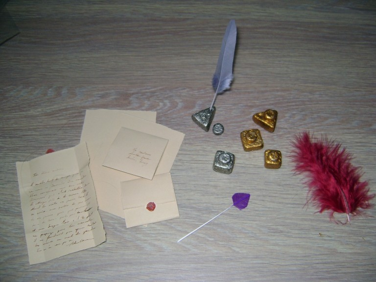 Ancient writing sets
