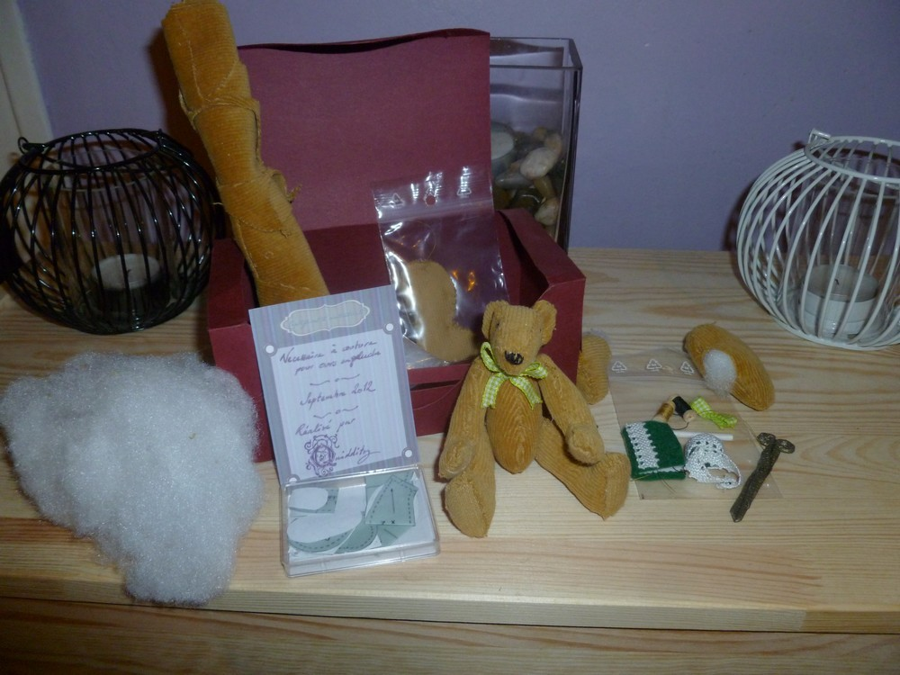 Teddy bear making set