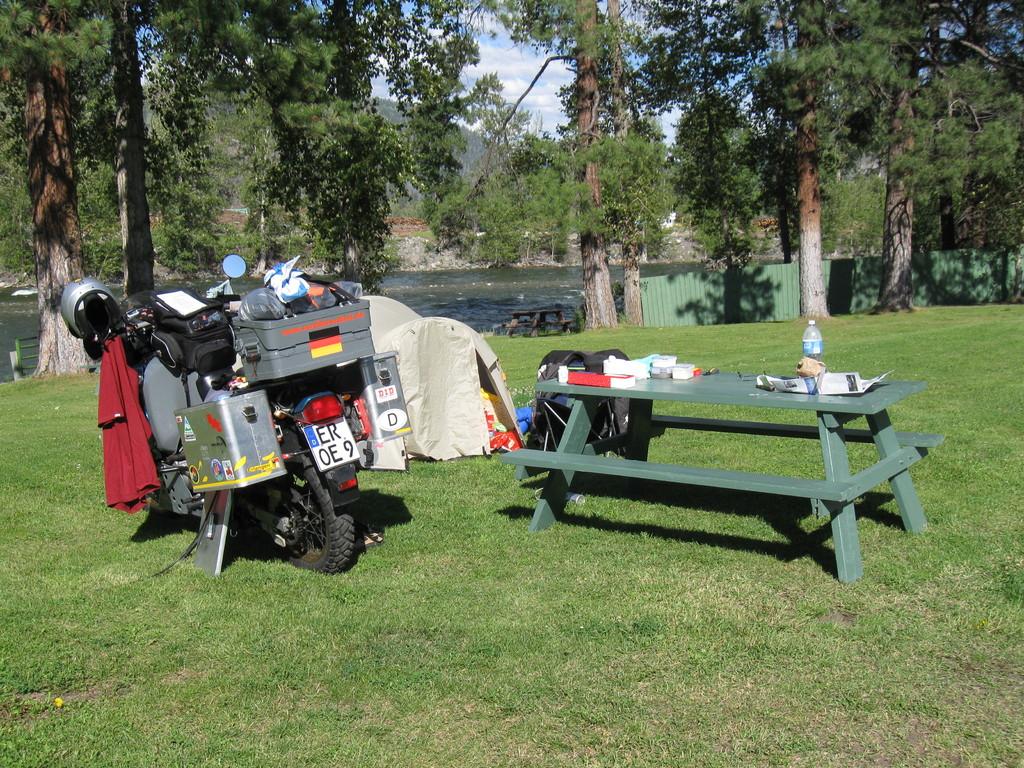 schöner kleiner Campground in Princeton
