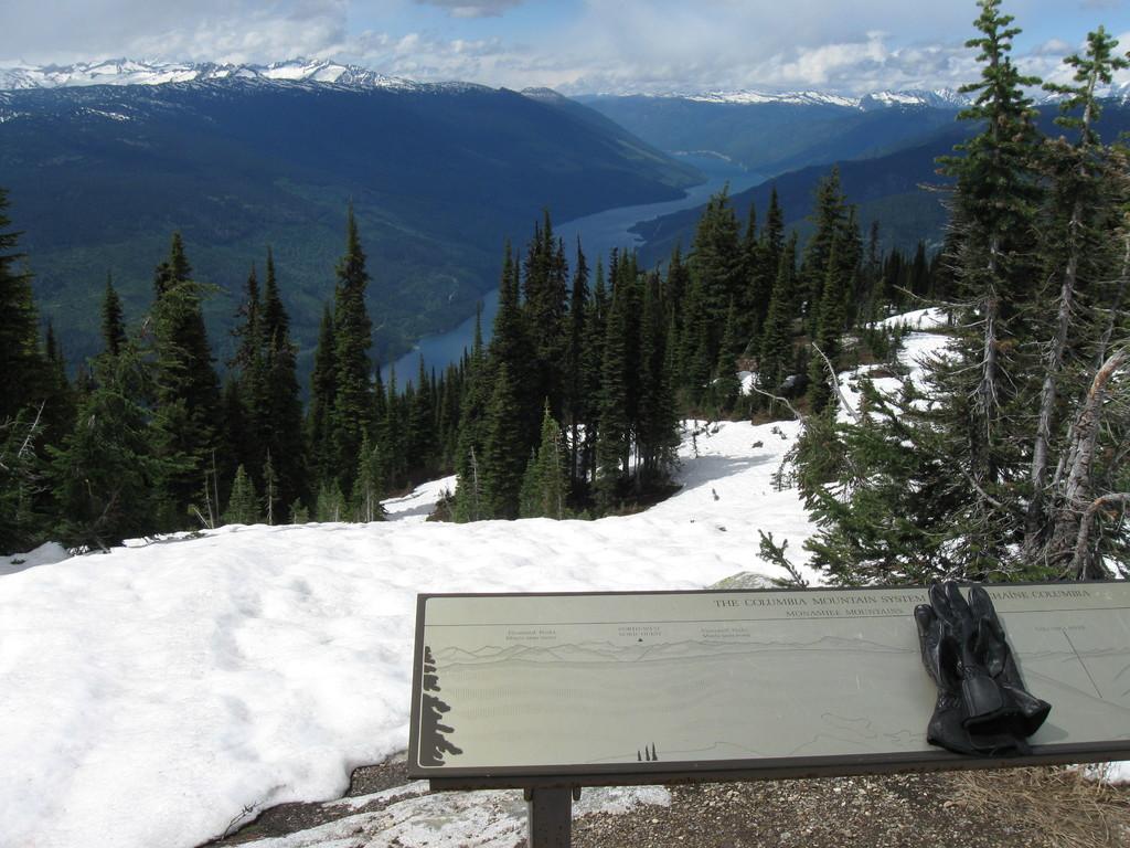 Ausblick vom Mount Revelstoke