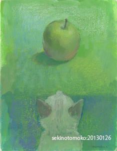 りんごと仔猫