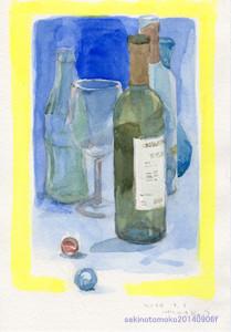卓上のビン