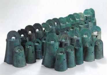 加茂岩倉遺跡から発見された銅鐸